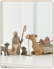Willow Tree SHEPHERD AND STABLE ANIMALS - Nativity Figures