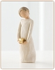 Willow Tree SPIRIT OF GIVING - Figurine ScultpureHallmark Christmas Ornament