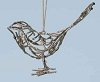 2014 Twig  Bird Ornament - by Roman Hallmark Christmas Ornament