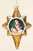2014 Gold Star Kneeling Santa - by Roman, Inc.Hallmark Christmas Ornament