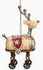 2014 Robot Reindeer Ornament - Roman, Inc.Hallmark Christmas Ornament