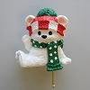Baby Bear Stocking Hanger - DB