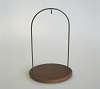 "2014 Walnut Hanging Stand, Petite 5 1/4""Hallmark Christmas Ornament"