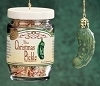 2014 Christmas Pickle w/jar- by Roman, Inc Hallmark Christmas Ornament