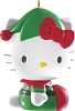 2014 Hello Kitty Elf - Carlton Ornament Hallmark Christmas Ornament