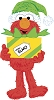2014 Elmo, Sesame Street - Carlton Ornament - SHIPS SEPT