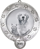 2014 Pet, Frame - Carlton Ornament Hallmark Christmas Ornament