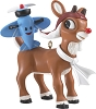 2013 Rudolph With Airplane - Carlton Ornament