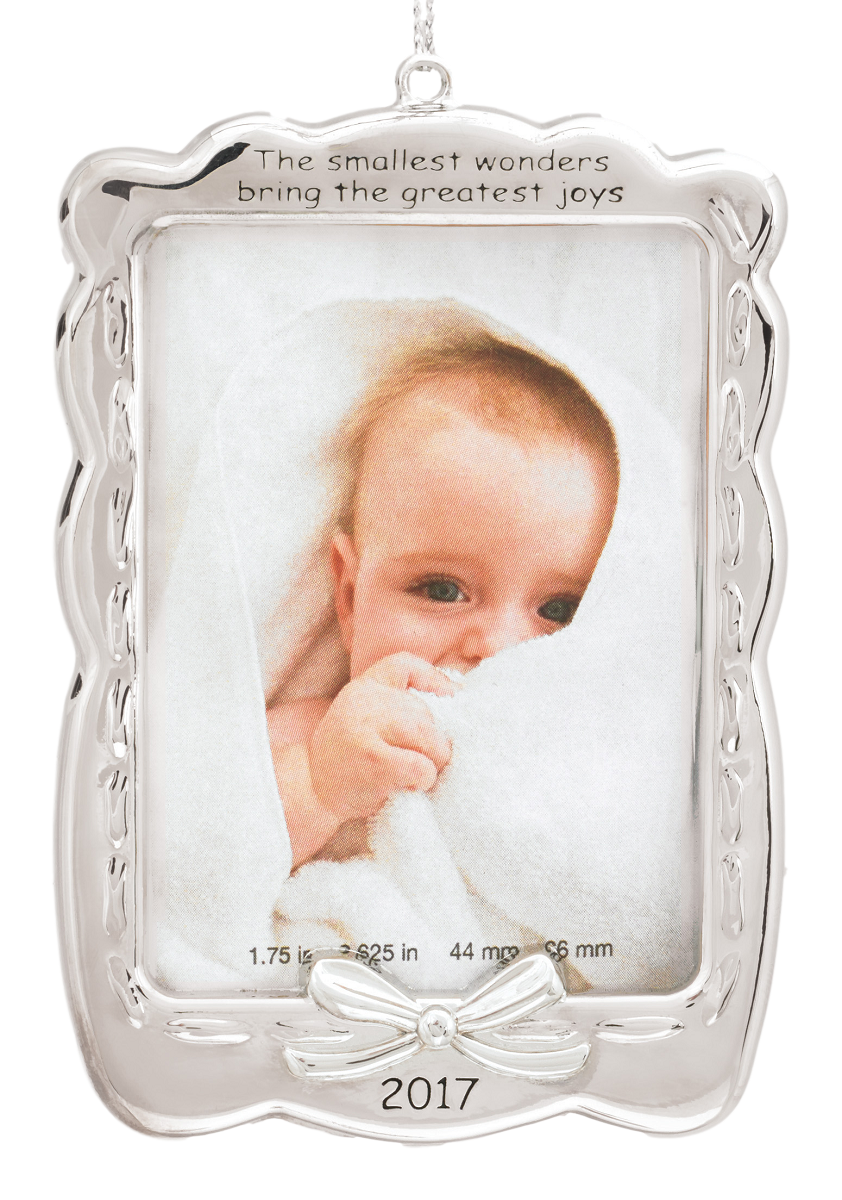 2017 Baby's First Christmas, Photo Holder - Carlton ...