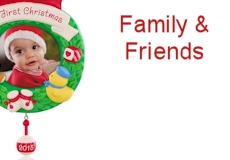 2015 Hallmark Family Ornaments