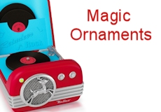 2015 Hallmark Magic Ornaments