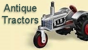 Hallmark Antique Tractors Miniature Ornaments