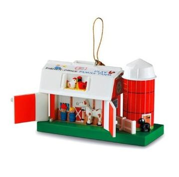 Fisher Price Toys Hallmark Christmas Ornaments