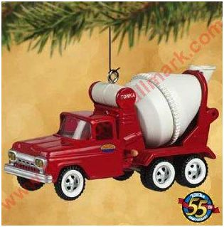 Tonka Toy Hallmark Christmas Ornaments