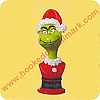 Grinchy ClausHallmark Christmas Ornament