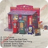 Pedal Petroleum Gas Pump - GreenHallmark Christmas Ornament