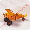 1930 Custom BiplaneHallmark Christmas Ornament
