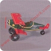 1930 Spirit of Christmas Custom Biplane - Lg Table Top Hallmark Christmas Ornament