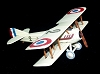 Spad XIII Escadrille SPA 3 - Legends in FlightHallmark Christmas Ornament