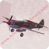 Curtiss P-40 Warhawk - Legends in Flight Hallmark Christmas Ornament