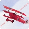 Fokker DR. I Red Baron - Legends in FlightHallmark Christmas Ornament
