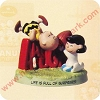 Fall Ball, Peanuts Gallery FigurineHallmark Christmas Ornament