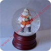 Ready for Christmas Snow GlobeHallmark Christmas Ornament