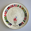 1996 Olympic Spirit, Parade of Nations PlateHallmark Christmas Ornament