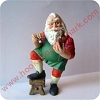 1986 Toymaker #1 - Painting Santa - FigurineHallmark Christmas Ornament