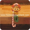 Elf with Candy Cane - NBHallmark Christmas Ornament