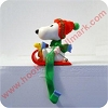 Snoopy Stocking Hanger - in boxHallmark Christmas Ornament