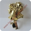 Brass Bells - Stocking Hanger - Rare! Hallmark Christmas Ornament