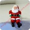 Santa Claus - Stocking HangerHallmark Christmas Ornament