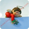 Angel with Gold Star - Stocking HangerHallmark Christmas Ornament