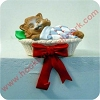 Kitten in Basket - Stocking Hanger Hallmark Christmas Ornament
