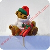 Teddy Bear Hallmark Christmas Ornament