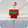 Peanuts Lighted Stocking Hanger Hallmark Christmas Ornament