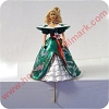 Barbie Stocking Hanger - Green DressHallmark Christmas Ornament