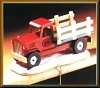 Halls Bros TruckHallmark Christmas Ornament