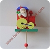 Santa in TrainHallmark Christmas Ornament