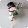 Snowman with Candy CaneHallmark Christmas Ornament