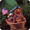 Patriot George - Tender Touches FigurineHallmark Christmas Ornament