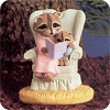 Mother Raccoon Reading Bible Stories - Tender Touches FigurineHallmark Christmas Ornament