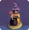 Raccoon Witch with Caldron - Tender Touches FigurineHallmark Christmas Ornament
