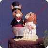 Bride and Groom - Tender Touches FigurineHallmark Christmas Ornament