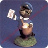 Raccoon Mail Carrier - Tender Touches Figurine