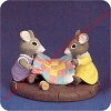 Mice With Quilt - Tender Touches FigurineHallmark Christmas Ornament