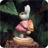 Bunny Hiding Valentine - Tender Touches Figurine