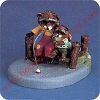 Raccoons Fishing - Tender Touches FigurineHallmark Christmas Ornament