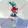 Bunny Skier, Stocking HangerHallmark Christmas Ornament